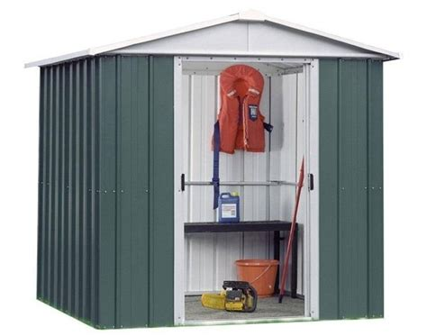 8ft X 10ft Shed by 108geyz 10ft X 8ft Metal Shed