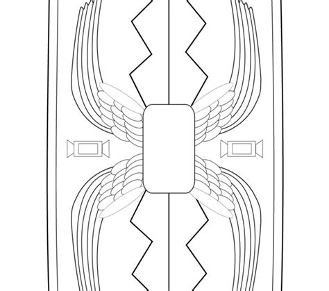 printable roman images roman shield coloring coloring pages