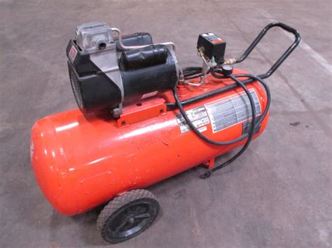 devilbiss air power co pro air ii air compressor appt only property room