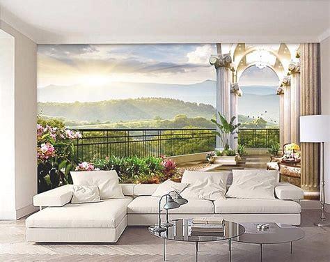 modern wallpaper design  living room   room