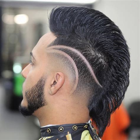 mohawk part designs 143 best images about men s hairstyles 2016 on