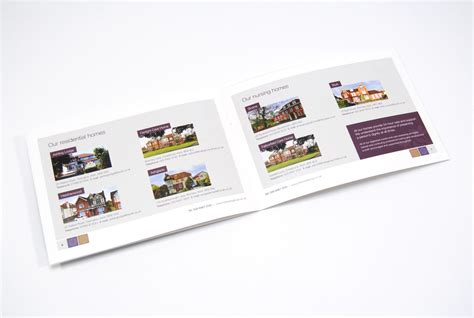 care home brochure design for mills care
