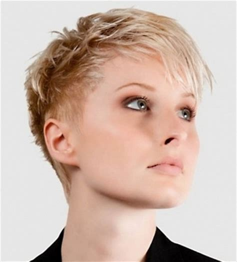 very short edgy haircuts for women with round faces very short haircuts for older women