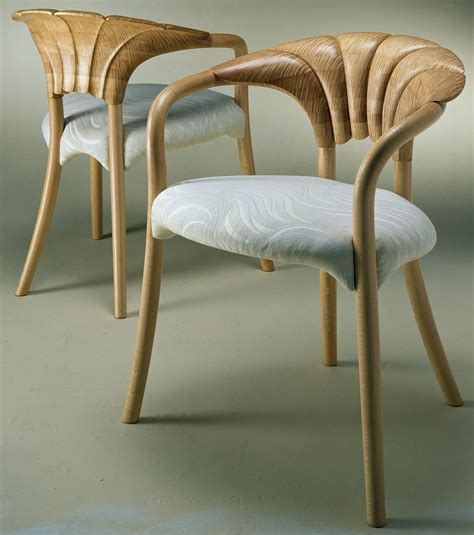 John Makepeace Furniture Designer And Maker Petal Chairs