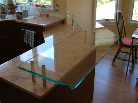 glas stab countertops residential project glass kitchen countertops by glassworks