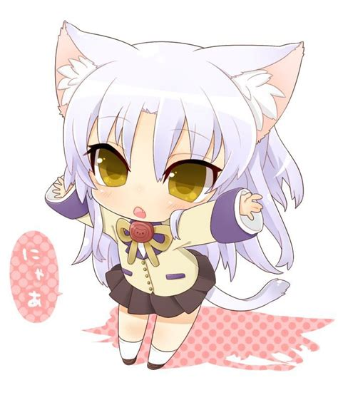 imagenes anime neko chibi angel beats kanade chibi neko angel beats others