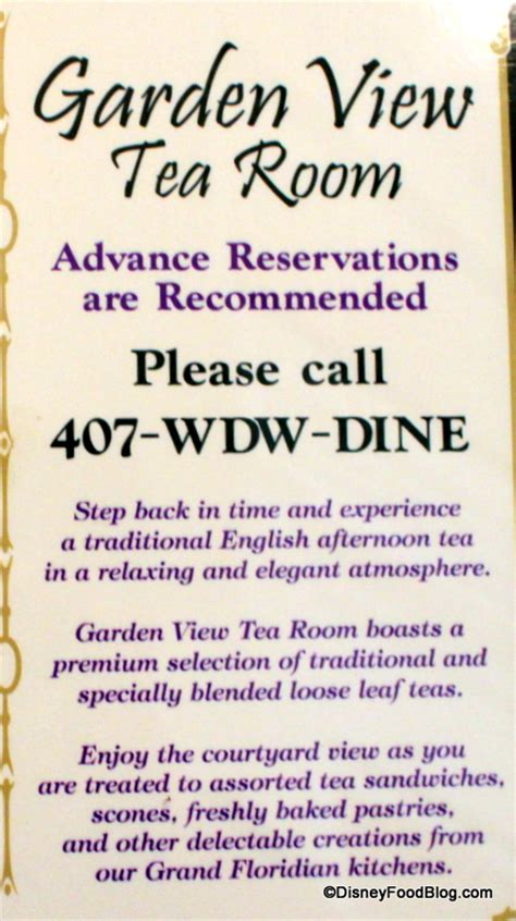 garden view tea room menu guest review afternoon tea at the grand floridian s garden view lounge the disney food