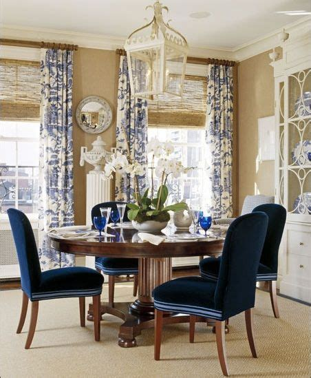 blue dining room 1000 ideas about dining room drapes on pinterest