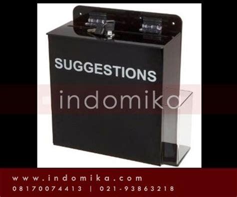 Kotak Akrilik Acrylic Box Showcase Pajangan galeri akrilik menerima pemesanan kotak saran akrilik dari bahan akrilik