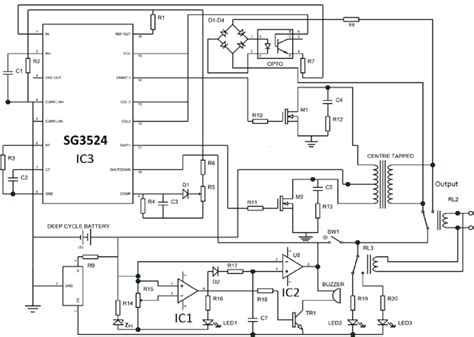 12vdc to 220vac inverter circuit diagram pdf wiring
