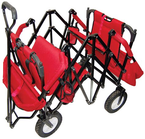 two seat wagon 2 seat folding wagon by creative outdoors