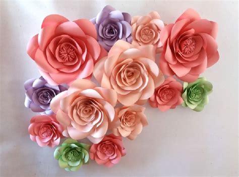 imagenes de flores gigantes flores de papel gigantes compra lotes baratos de flores