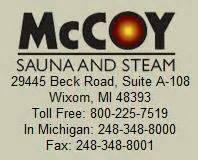 the mccoy sauna and steam review