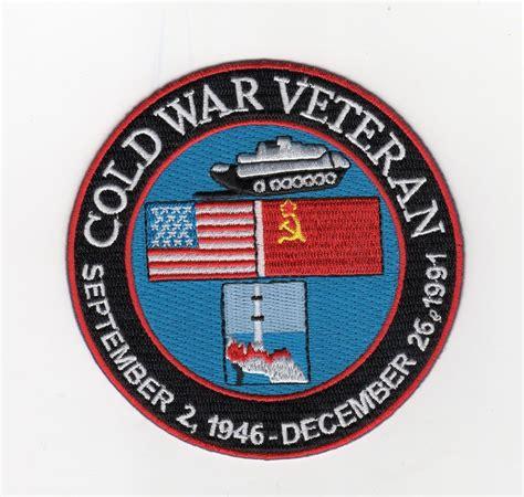 cold war veterans seek recognition for their service cold war veteran sept 2 1946 dec 26 1997 bc patch