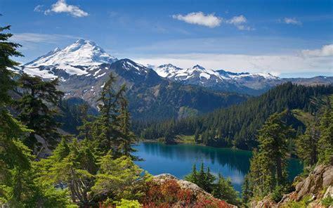 Landscape Mountains Mountain Landscape Wallpaper