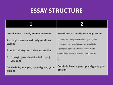 Structures Of An Essay by Basic Section B Essay Structures