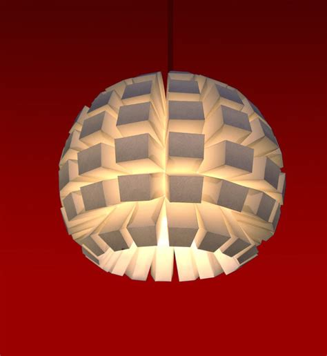 How To Make A Paper Light Shade - paper lightweight l shade by bapseflaps contemporary