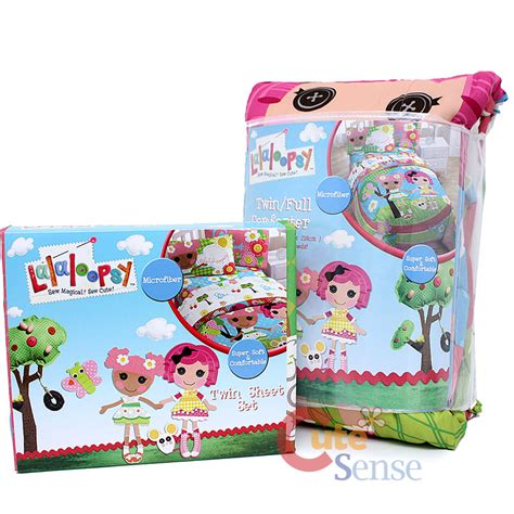 Lalaloopsy 4pc Twin Bedding Comforter With Sheet Set Ebay Lalaloopsy Bedding
