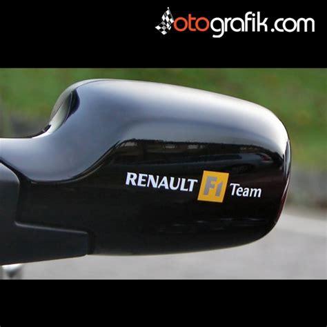renault  team oto sticker otografik