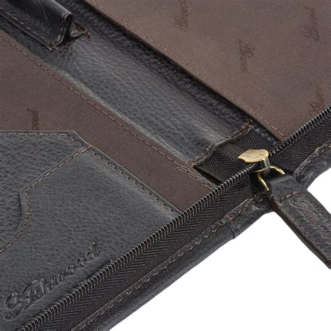 A4 Document Sleeve leather document holder brown a4 sleeve