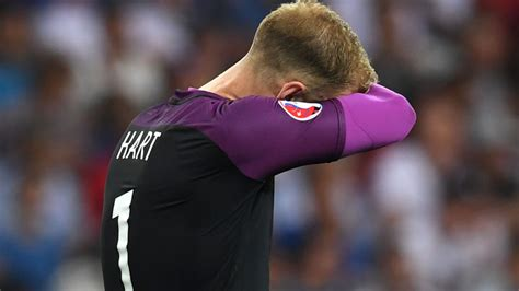 iceland goalkeeper joe hart takes responsibility for s 2016 exit