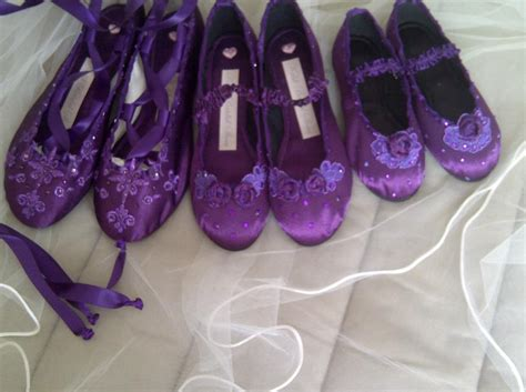 purple flat wedding shoes the whole bridal in purple flat wedding shoes