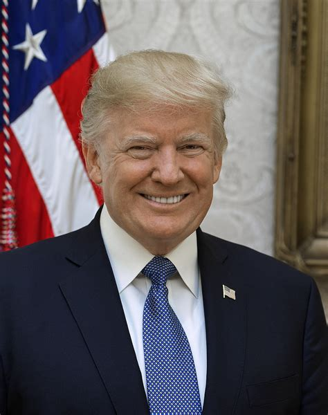 donald trump presidential picture donald trump wikipedia wolna encyklopedia