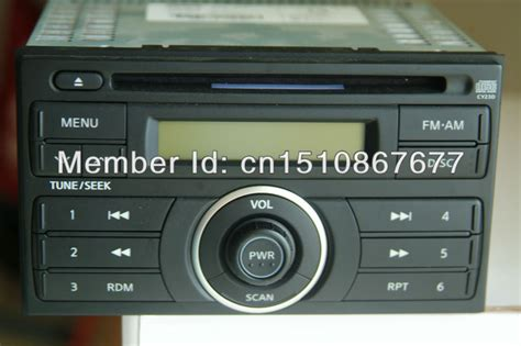 oem nissan qashqai car radio car cd player with fm