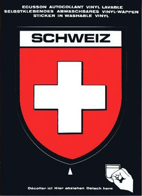 Sticker Drucken Bern by Schweiz Ch Postkarten Sticker Mit Grossem Wappen