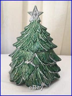 vintage mccoy christmas tree cookie jar