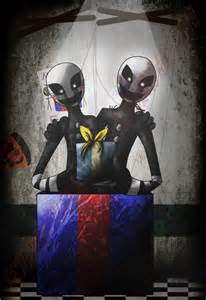 Fnaf 3 marionette marionette twins fnaf