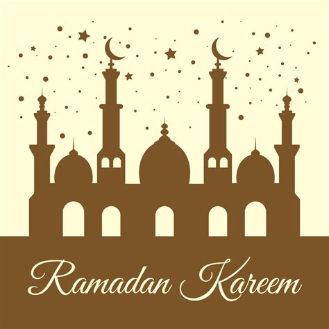 ramadan kareem background   vectors clipart