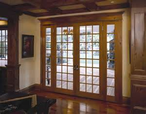 Exterior wood entry doors with side lights