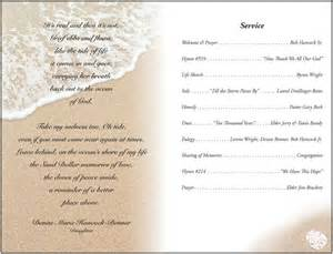 Funeral program template and microsoft word on pinterest