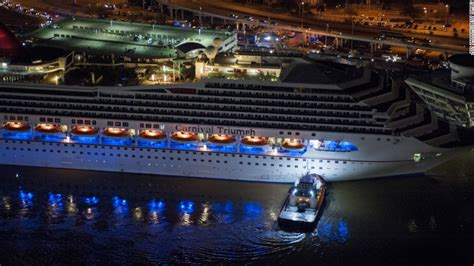 legend boats problems poop cruise carnival triumph set sail with problems cnn