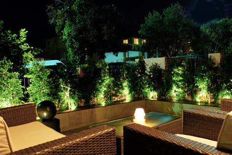 garden lamps  organize warm  ambient light