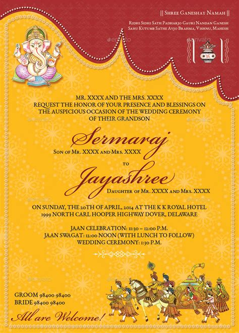 editable indian wedding invitation templates