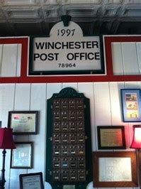 Winchester Post Office Hours us post office in winchester 78945 u s post