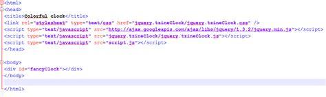 membuat jam digital pada web membuat jam digital unik dan colorful dengan mudah