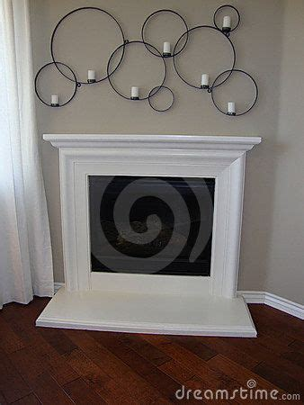 Large Candle Holders For Fireplace White Fireplace Decor White Fireplace And