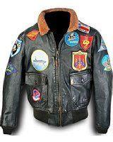 Kent Jaket Bomber Two Zipper image detail for leather flight jackets usaf bomber