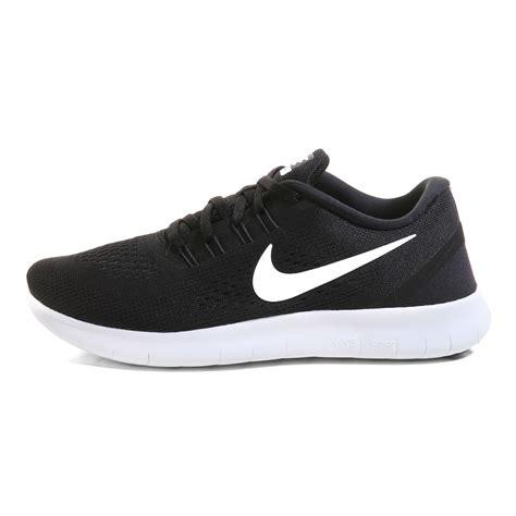 black nike shoes free run nike free run running shoes black white vaola