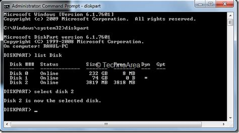 format date command format your usb drive via command prompt technoarea