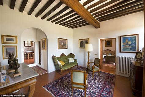 Toscana Home Interiors by Michelangelo S Tuscany Villa Can Be Your Italian Holiday