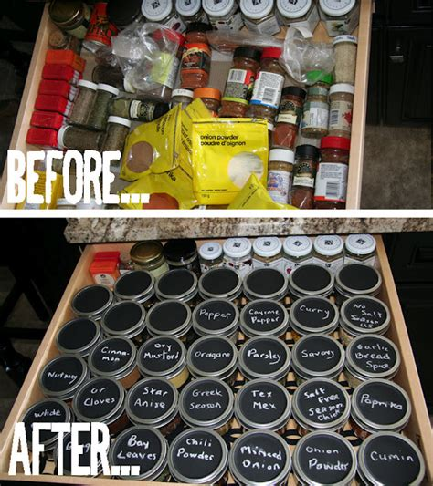 spice it up organizing your spice drawer hometalk