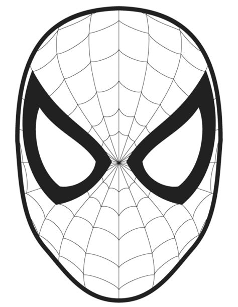 spiderman logo coloring pages halloween pinterest