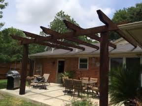 Pergola Roof Brackets by Pergola Attached To Roof Specialty Roof Brackets From