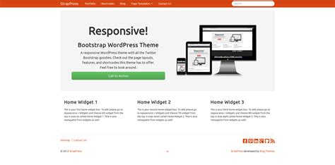 bootstrap themes united all 12 bootswatch themes now included strappress