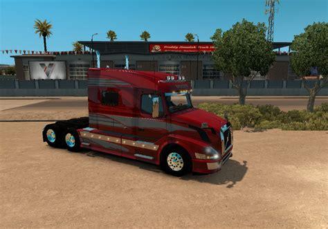 volvo truck shop volvo vnl 730 for vnl truck shop skin ats