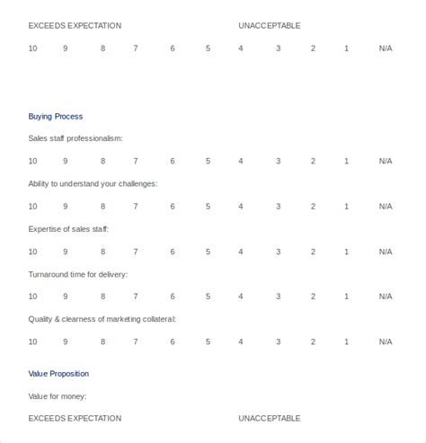customer survey templates 17 free word excel pdf
